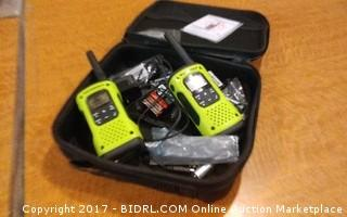 Motorola Two Way Radio  No Power Please Preview
