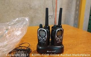 Midland Two Way radio Powers on Please Preview