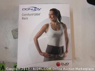 Don Joy Comfort form Back Please Preview