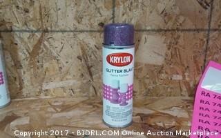 Krylon Glitter Blast Fierce fuchsia