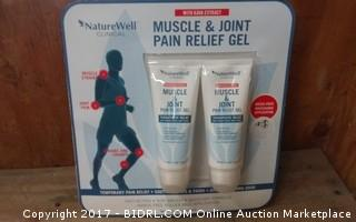 Nature Well Muscle & Joint Pain Relief Gel