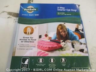 2 Way Interior Cat Door Please Preview