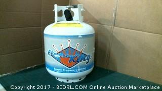 Empty Propane Cylinder Please Preview