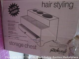 Hair Styling Storage Chest Please Preview