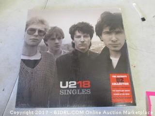 U2 18 Singles Album