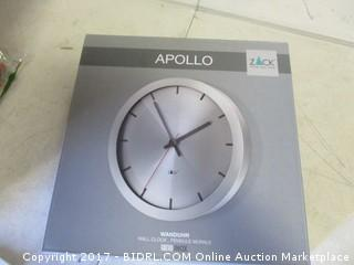 Apollo Wall Clock