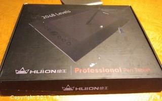 Huion Professional Pen Tablet Please Preview