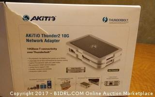 Akitio Thunder 2 10G Network Adapter Please Preview