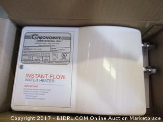 Chronomite Instant Flow Water Heater