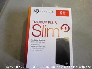 Seagate Backup Plus Slim  portable storage