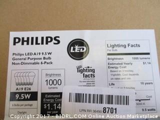 Philips Bulbs Box Lot