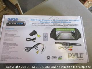 Pyle Backup Camera & Rearview Monitor parking Assist system