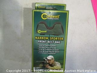 Caldwell Narrow Sporter Front Rest Bag