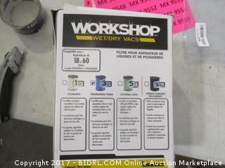 Workshop vac Filter