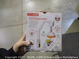 Skip*Hop 3-in-1 Travel Mobile