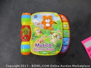 Musical Rhymes Book
