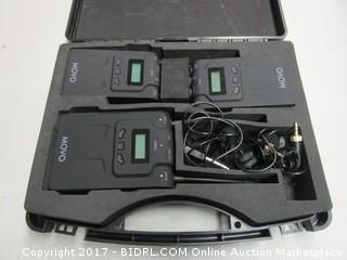 Movo Dual Channel Wireless Microphone System