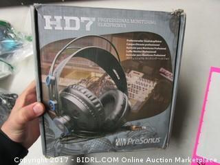HD7 Professional Monitoring Headphones Presonus