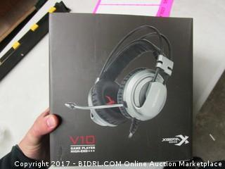 V10 Game Player Gaming Headset
