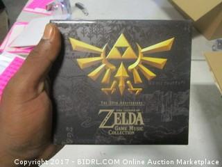 Zelda Music CD