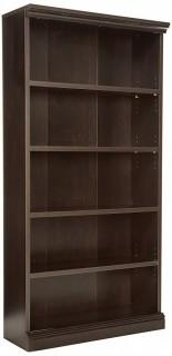 Sauder Library Bookcase, Estate Black Finish(Retail $149.00)