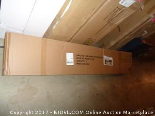 Zinus Modern Studio 14 Inch Platform 1500H Metal Bed Frame, Queen (Retail $125.00)