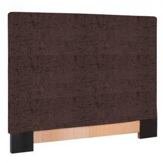 Howard Elliott K123-280 Slipcovered Headboard, Full/Queen, Rhythm Chocolate (Retail $198.00)