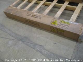 Zinus Modern Studio 10 Inch Platform 2000 Metal Bed Frame, Full (Retail $113.00)