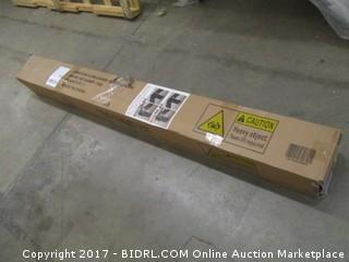 Zinus Modern Studio 10 Inch Platform 2000 Metal Bed Frame, Queen (Retail $123.00)
