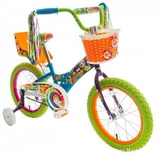 Titan Girl's Flower Power Princess BMX Bike, Multi Color, 16-Inch (Retail $99.00)