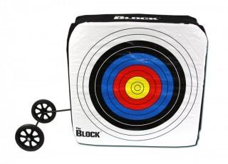 Block Bullseye NASP Archery Target with Removable Wheels (Retail $187.00)