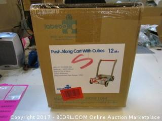 Push Aling Cart with Cubes Please Preview
