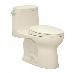 TOTO Ultramax II Het Double Cyclone One Piece Toilet with Sanagloss, Sedona Beige (Retail $551.00)
