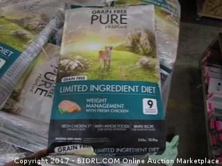 Canidae Grain Free Pure Resolve Limited Ingredient Diet (White and Blue Bag) 24LBS