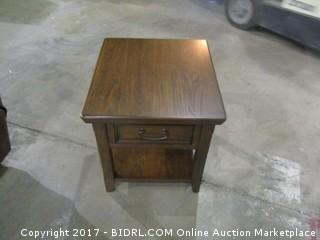 End Table MSRP $300.00 Please Preview
