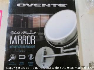 Ovente Wall Mount Mirror Please Preview