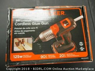 Black and Decker Cordless Glue Gun