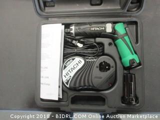 Hitachi Cordless Driver Drill