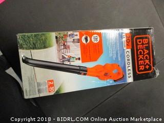 Black and Decker Hard Surface Sweeper