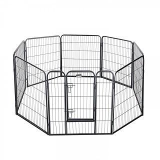 """Pet Trex 2341 32 Inch Hammer Playpen Heavy Duty Playpen for Indoor and Outdoor Use, 32"""", Grey (Retail $114.00)"""