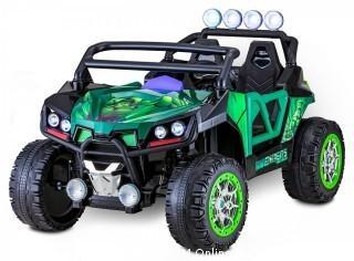 Kid Trax 12V UTV Hulk Electric Ride on, Green (Retail $369.00)