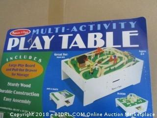 Melissa and Dough Multi-activity Play Table