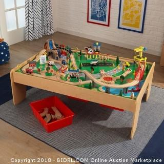 KidKraft Waterfall Mountain Train Set and Table (Retail $162.00) ACCESSORIES NOT INCLUDED