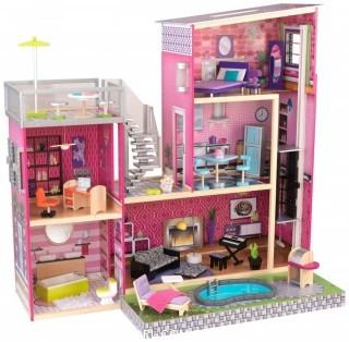 KidKraft Girl's Uptown Dollhouse with Furniture (Retail $159.00)