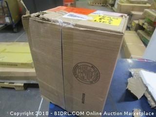 Amaco 45047J High-Fire Moist Stoneware Clay, #38 White (Retail $25.00)