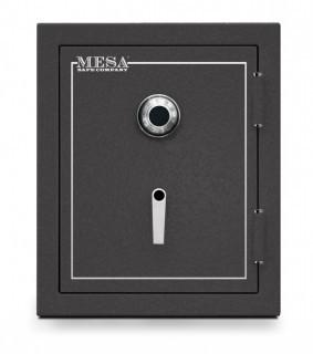 Mesa Safe MBF2620C All Steel Burglary and Fire Safe with Combination Lock, 4.1-Cubic Feet, Hammered Grey (Retail $745.00)