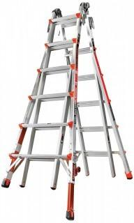 Little Giant Ladder Systems 12026-801 Revolution M26 with Ratcheting Levelers (Retail $535.00)
