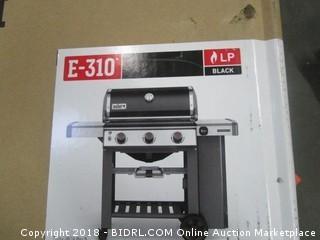 Weber 61010001 Genesis II E-310 Liquid Propane Grill, Black (Retail $852.00)