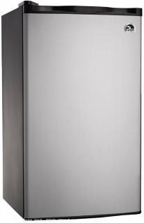 RCA RFR321-FR320/8 IGLOO Mini Refrigerator, 3.2 Cu Ft Fridge, Stainless Steel (Retail $119.00)
