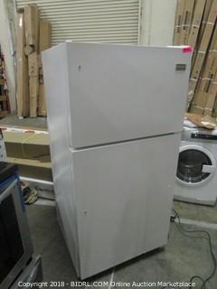 Frigidaire Refrigerator FFTR1514RW  MSRP $519 (Powers on and Cools)